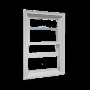 open single hung window